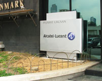 Alcatel lucent Signage 2014