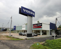 Volvo Pylon Sign 2014
